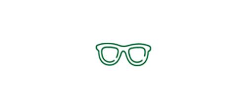 Icône de lunettes représentant le besoin de porter des lunettes pour voir de près