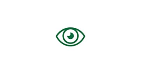 Icône d'œil indiquant une vision de loin de qualité